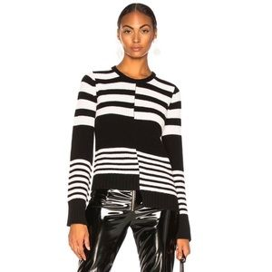 NWT Equipment Elm Cashmere Striped Sweater - XS